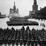Великая Отечественная война. Парад на Красной площади, 1941 год