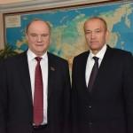 Геннадий Зюганов и Владимир Чулошников