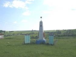 Молёбка, памятник, посвященный землякам павшим в годы ВОВ